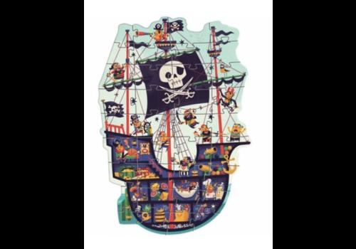 Le bateau pirate - 36 pièces