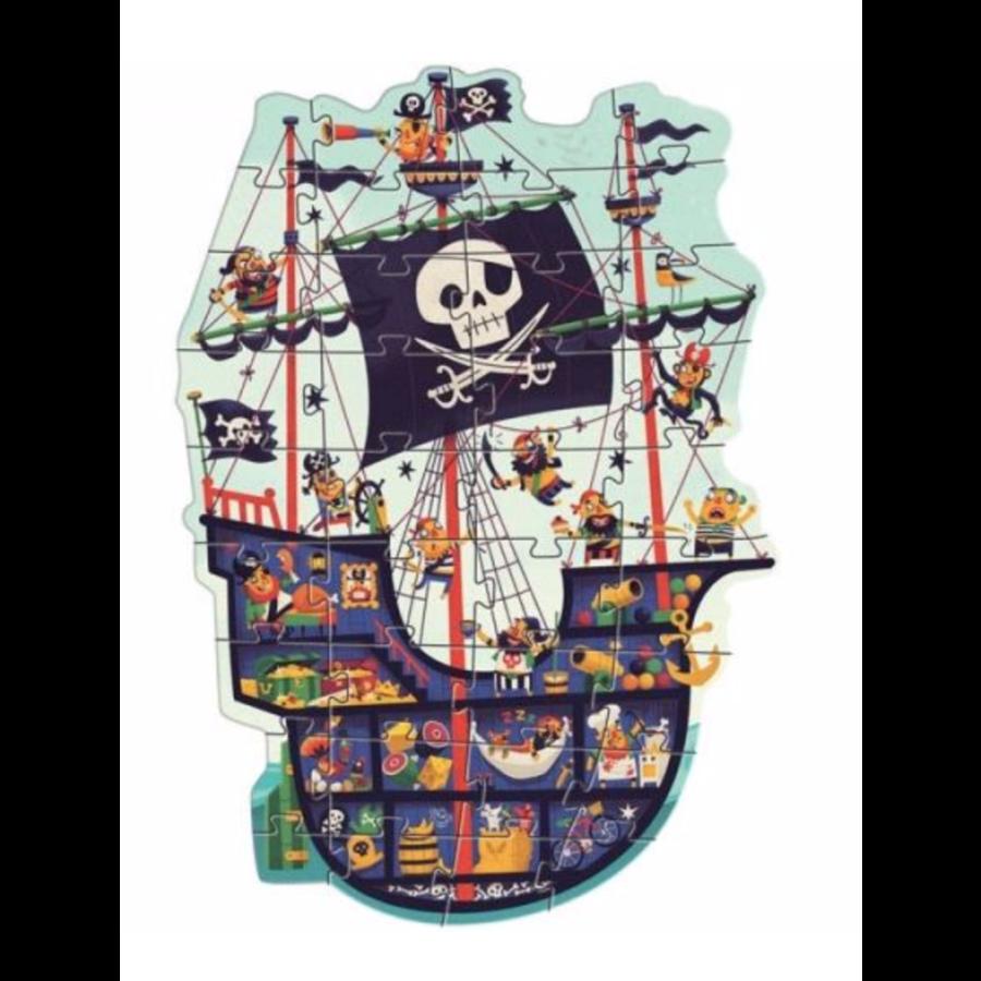 Het piratenschip - puzzel van 36 stukjes-1