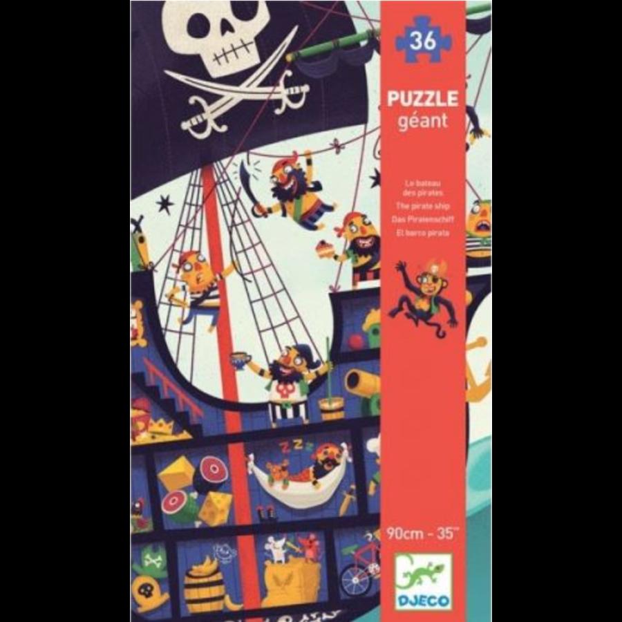 Het piratenschip - puzzel van 36 stukjes-2