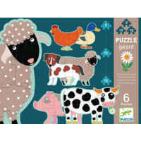 thumb-6 giant pearls of farm animals - 9, 12 and 15 pieces-1