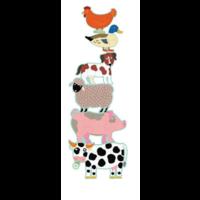 thumb-6 reuzengrote puzzels van boerderijdieren - 9, 12 en 15 stukjes-2