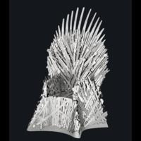 thumb-Iron Throne - GOT - Iconx puzzle 3D-1