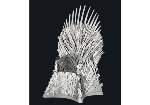 Metal Earth Iron Throne - GOT - Iconx 3D puzzel