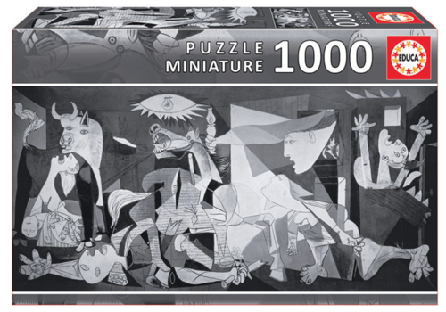 Miniatuur puzzel - Guernica - 1000 stukjes