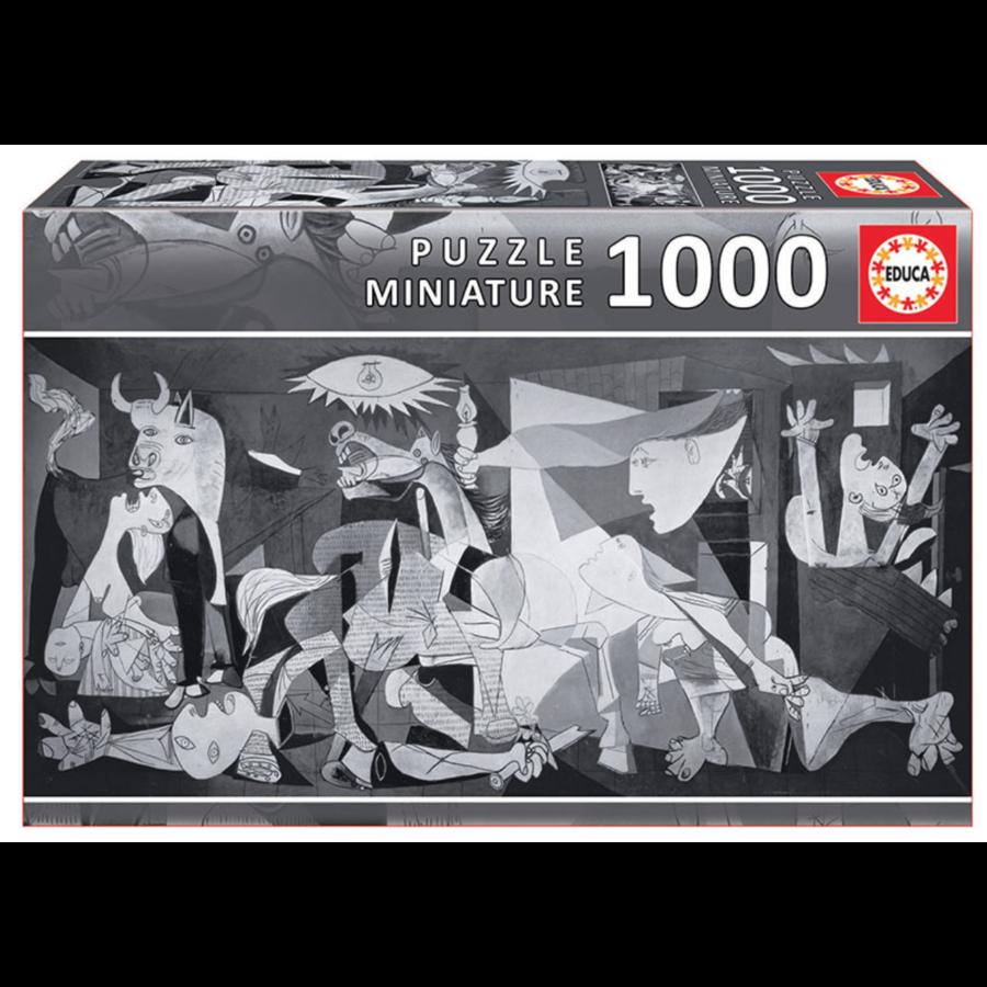 Miniature puzzle - Guernica - 1000 pieces-1