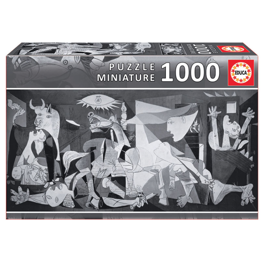 Miniatuur puzzel - Guernica - 1000 stukjes-1