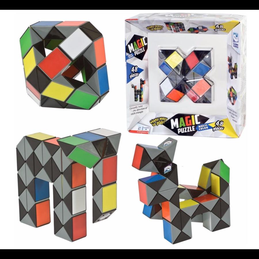Magic Puzzle 3D Multi - 48 onderdelen-1