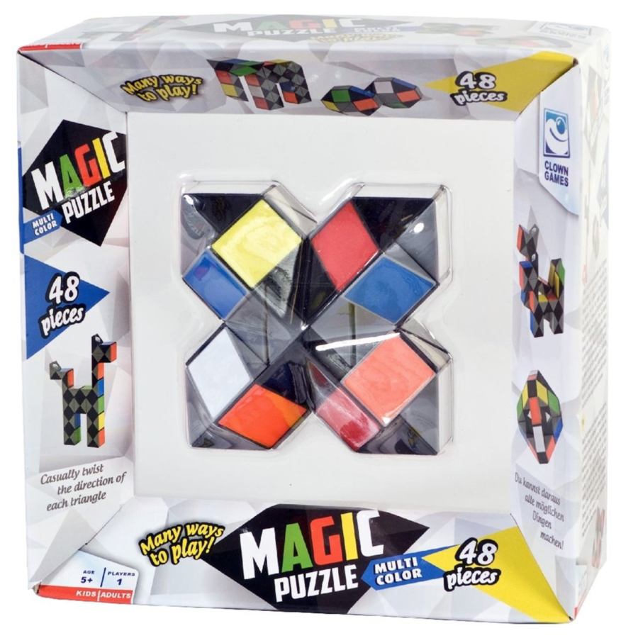 Magic Puzzle 3D Multi - 48 parts-3