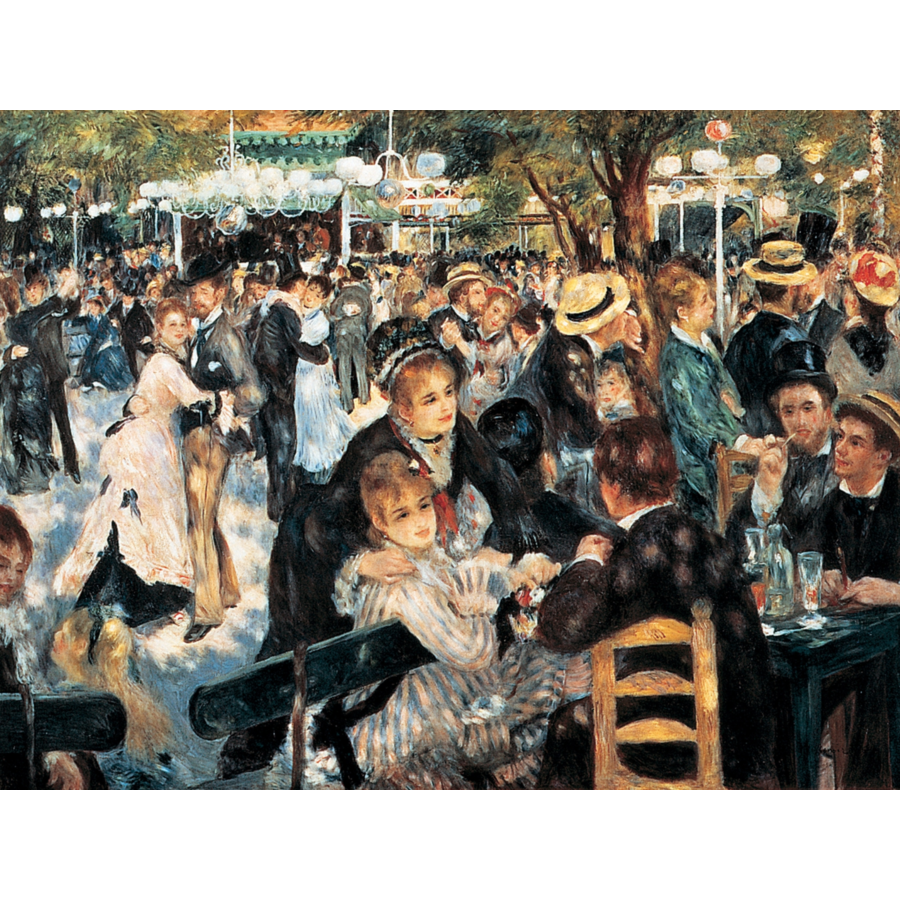 Renoir - Dance- puzzle of 1000 pieces-1