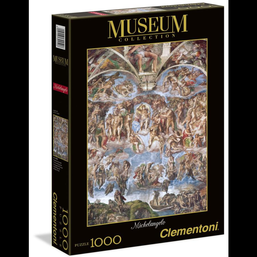 Michelangelo - The last Judgement - 1000 pieces-1