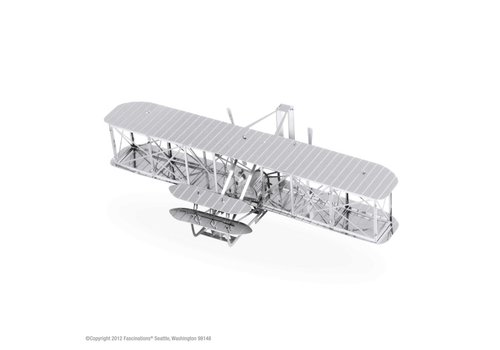 Wright Brothers Airplane - puzzle 3D