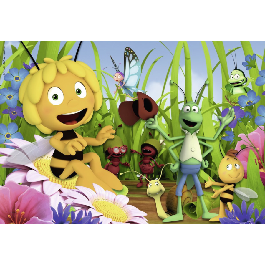 Maya the bee - 2 puzzles of 12 pieces-2
