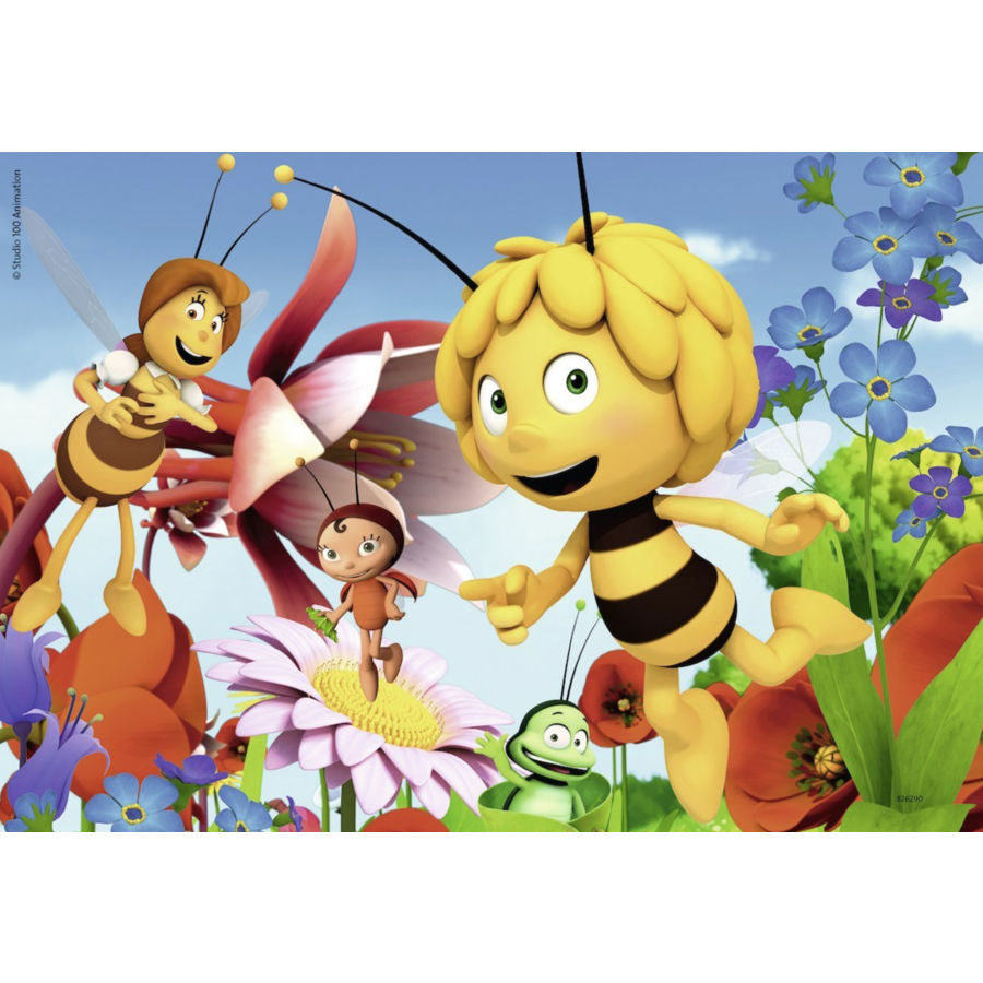 Maya the bee - 2 puzzles of 12 pieces-3