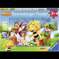 thumb-Maya the bee - 2 puzzles of 12 pieces-1