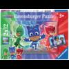 Ravensburger PJ Masks - 2 puzzles of 12 pieces