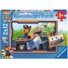 Ravensburger Paw Patrol in actie - 2 puzzels van 12 stukjes