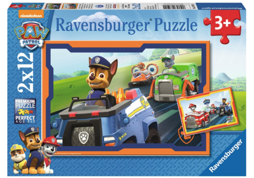 Ravensburger Paw Patrol in action - 2 x 12 pieces