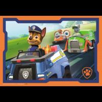 thumb-Paw Patrol in actie - 2 puzzels van 12 stukjes-3