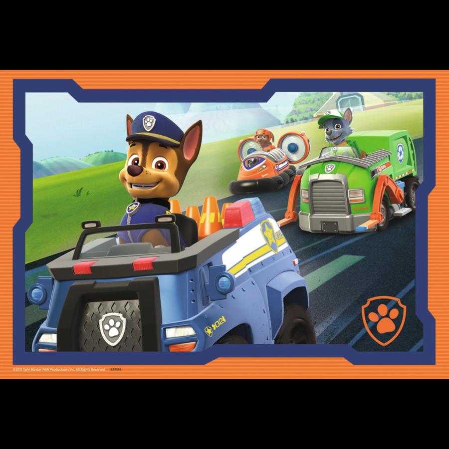 Paw Patrol in actie - 2 puzzels van 12 stukjes-3