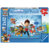 Ravensburger Paw Patrol samen met Ryder - 2 puzzels van 12 stukjes