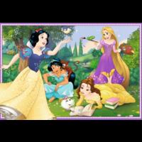 thumb-Disney prinsessen - 2 puzzels van 12 stukjes-2