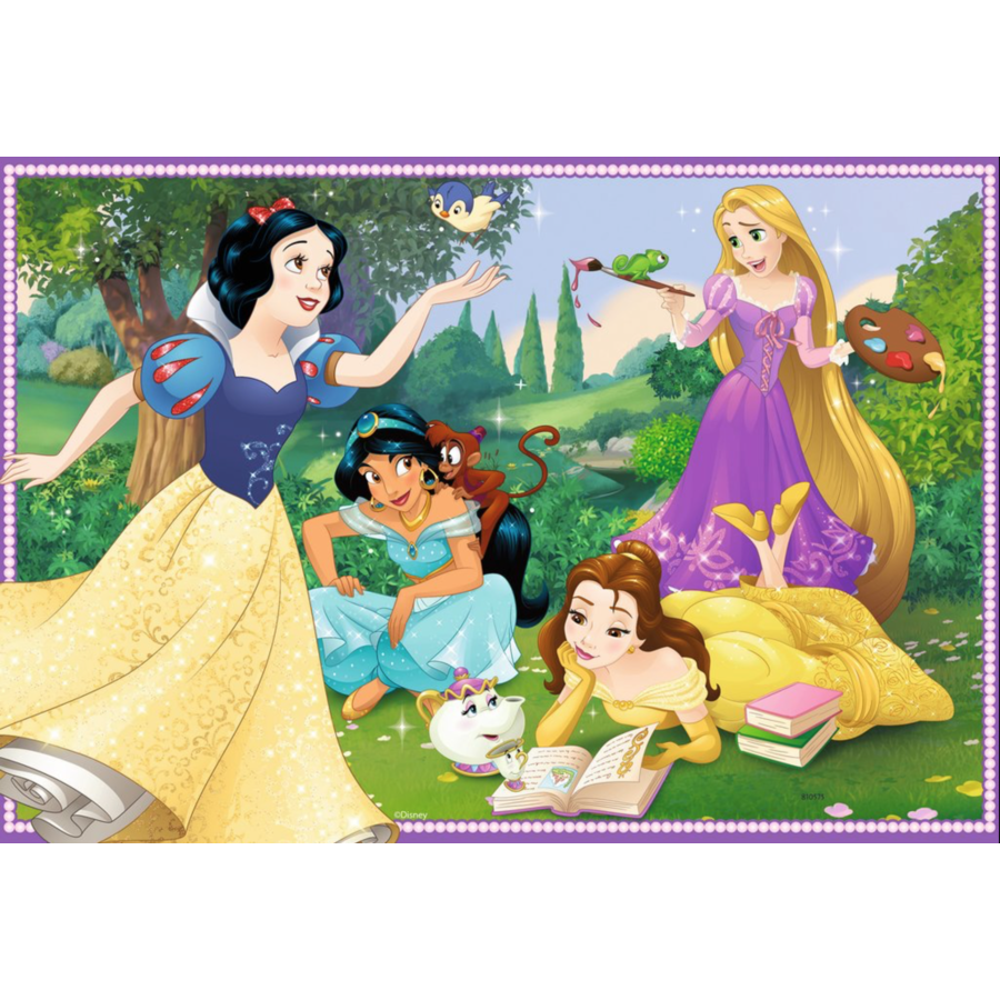 Disney princesses - 2 puzzles of 12 pieces-2