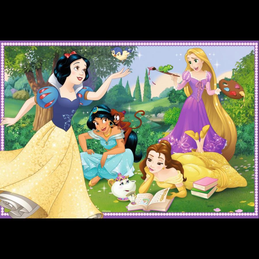 Disney prinsessen - 2 puzzels van 12 stukjes-2