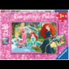 Ravensburger Disney prinsessen - 2 puzzels van 12 stukjes