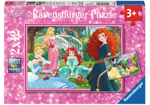 Ravensburger Disney princesses - 2 x 12 pièces