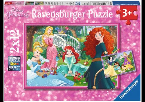Ravensburger Disney prinsessen - 2 x 12 stukjes