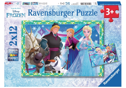 Frozen - 2 x 12 pieces