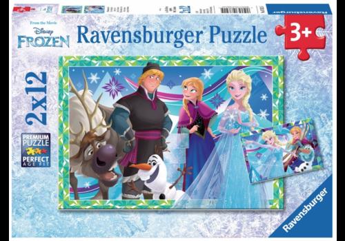Ravensburger Frozen - 2 x 12 stukjes
