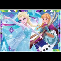 thumb-Frozen - 2 puzzels van 12 stukjes-2