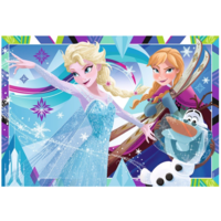 thumb-Frozen - 2 puzzles of 12 pieces-2