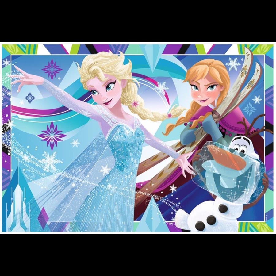 Frozen - 2 puzzels van 12 stukjes-2
