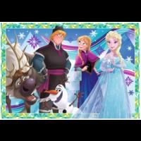 thumb-Frozen - 2 puzzels van 12 stukjes-3