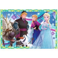 thumb-Frozen - 2 puzzles of 12 pieces-3