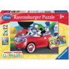 Ravensburger Mickey Mouse - 2 puzzles of 12 pieces