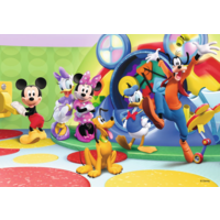 thumb-Mickey Mouse - 2 puzzles of 12 pieces-2