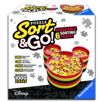 thumb-« Trier vos puzzel'-plateaux - Mickey Mouse - Disney-2