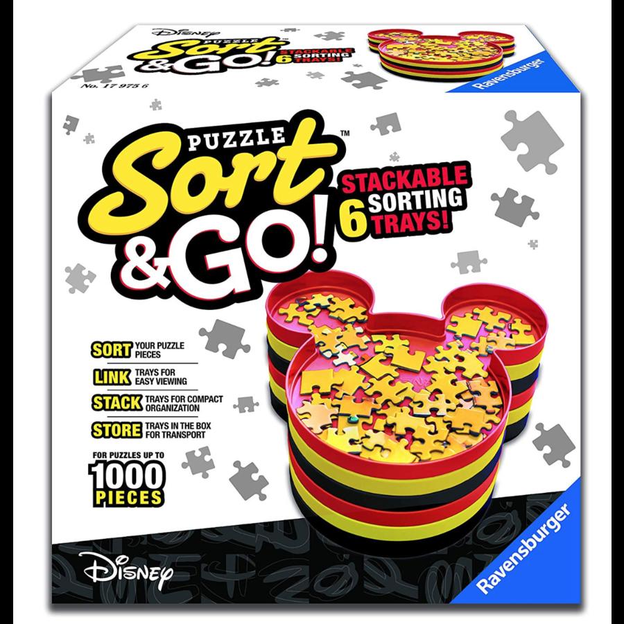 'Sorteer je puzzel'-bakjes - Mickey Mouse - Disney-2