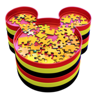 thumb-« Trier vos puzzel'-plateaux - Mickey Mouse - Disney-1