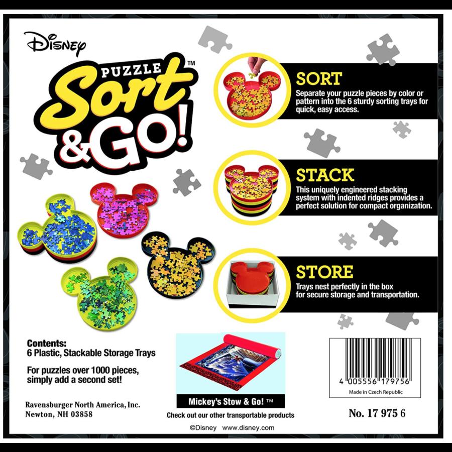 'Sorteer je puzzel'-bakjes - Mickey Mouse - Disney-5