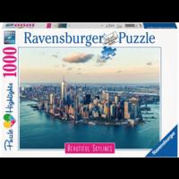 thumb-De skyline van New York  - puzzel van  1000 stukjes-2