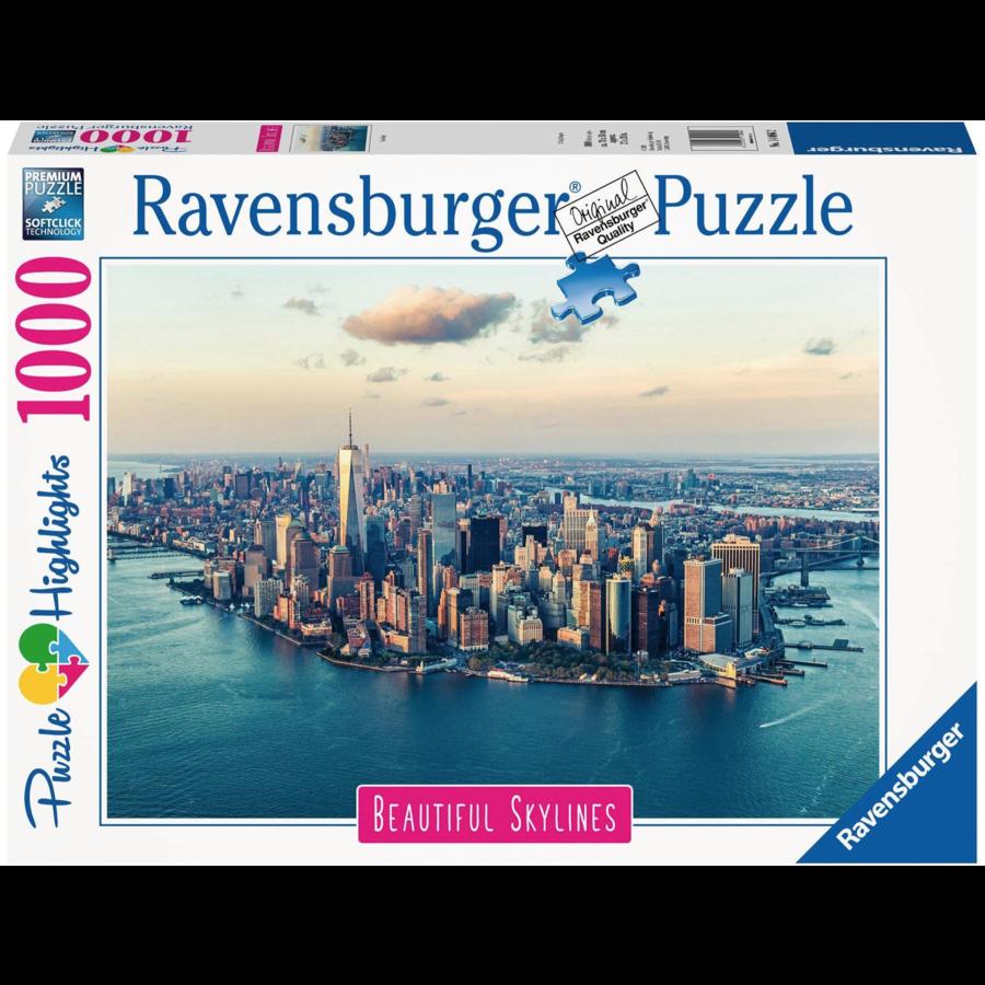 De skyline van New York  - puzzel van  1000 stukjes-2