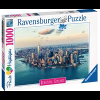 thumb-De skyline van New York  - puzzel van  1000 stukjes-3