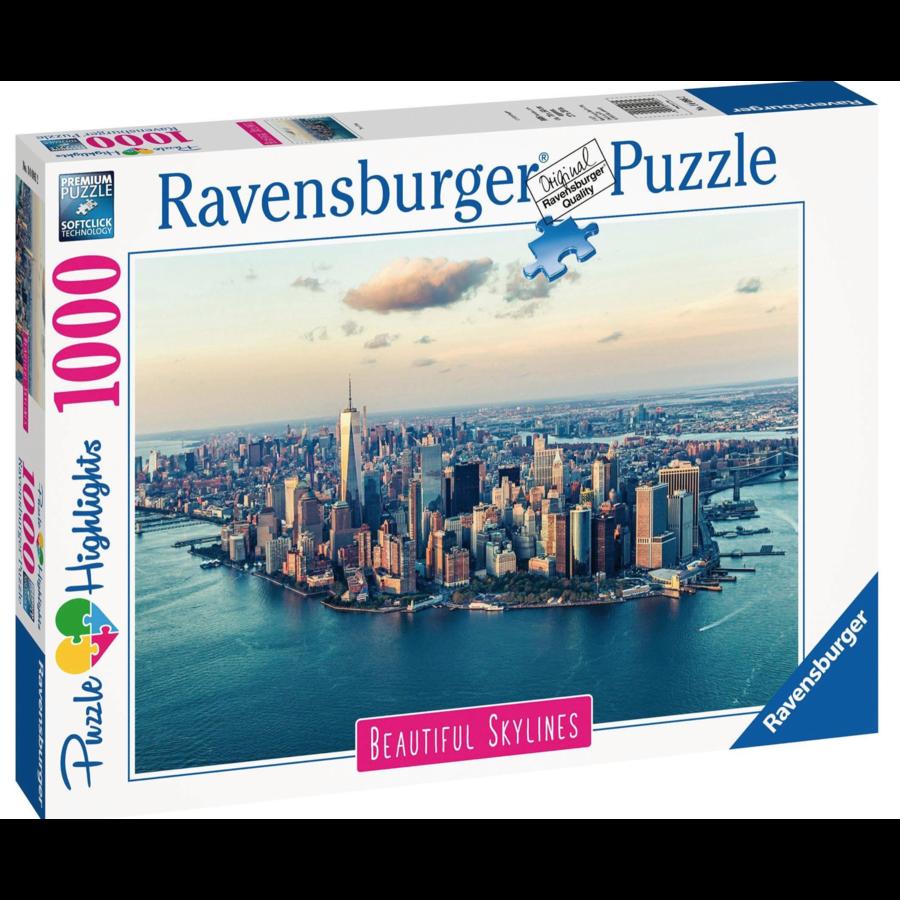 De skyline van New York  - puzzel van  1000 stukjes-3