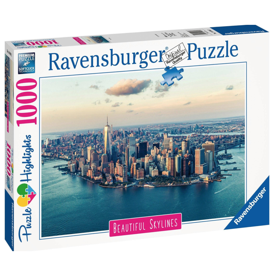 The skyline van New York - puzzle of 1000 pieces-3