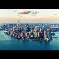 thumb-De skyline van New York  - puzzel van  1000 stukjes-1