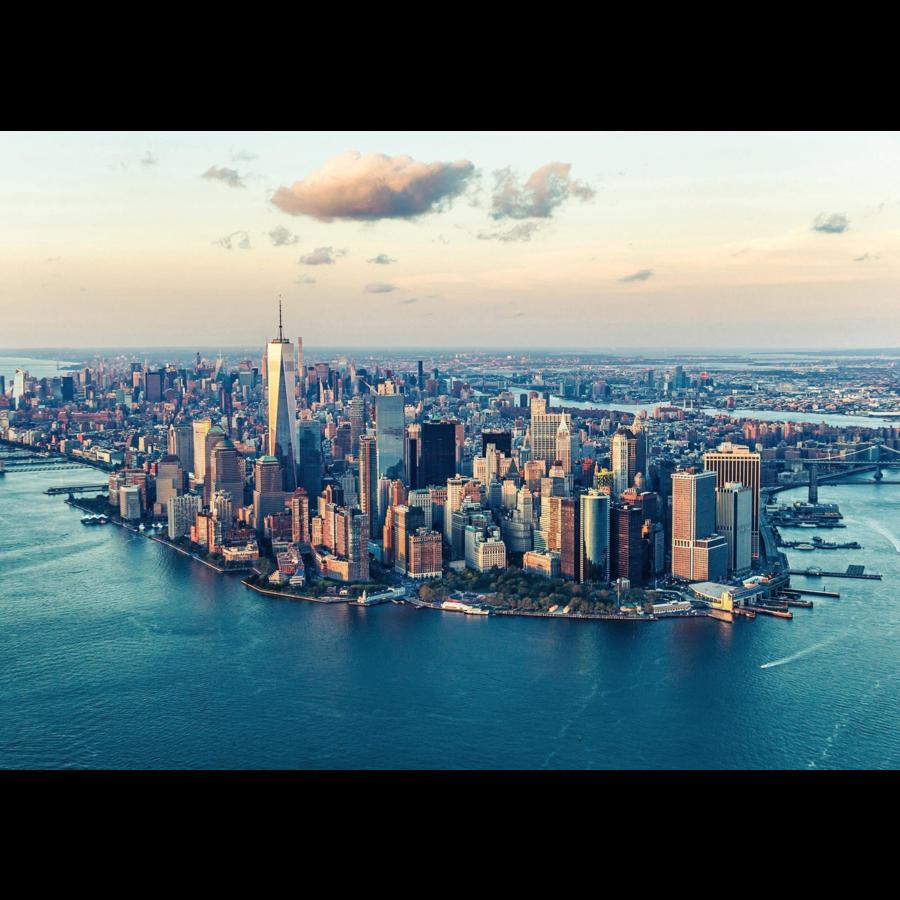 De skyline van New York  - puzzel van  1000 stukjes-1